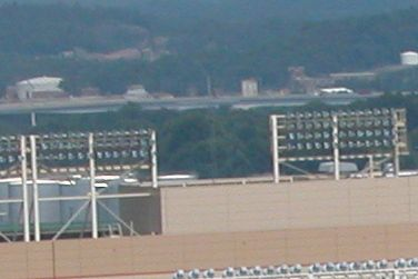 Closeup of area in Neyland Stadium