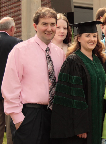 Me, Katie (youngest sister), and Rachel (younger sister) at Rachel's Graduation